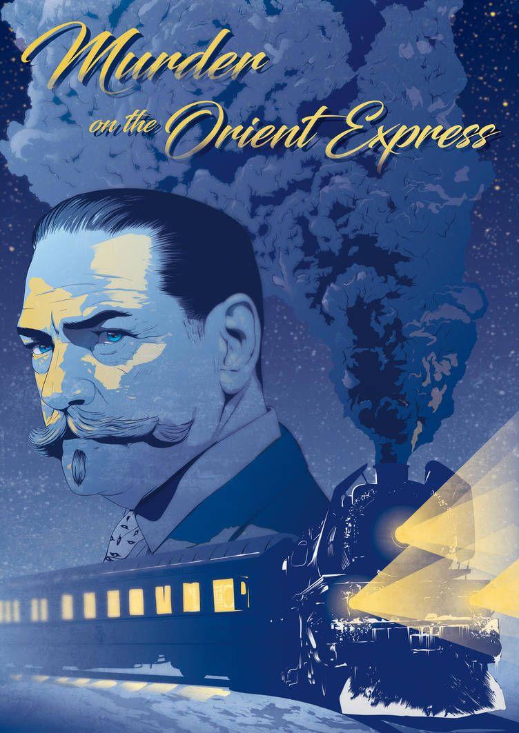 Murder on the orient express - Alternative poster by Psycool on DeviantArt