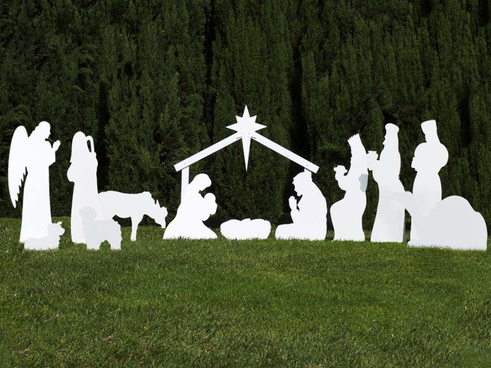 The Complete Nativity Outdoor Scene