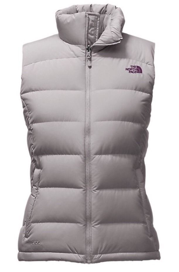 536db8e89 Vests 15775: Women S The North Face Nuptse 2 Down Vest New Metallic ...