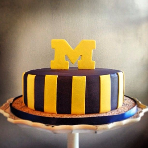 Michigan Cake Made By Sweet Heather Anne Http