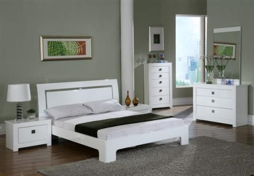 White High Gloss Bedroom Furniture | Bedroom | Bed, White ...