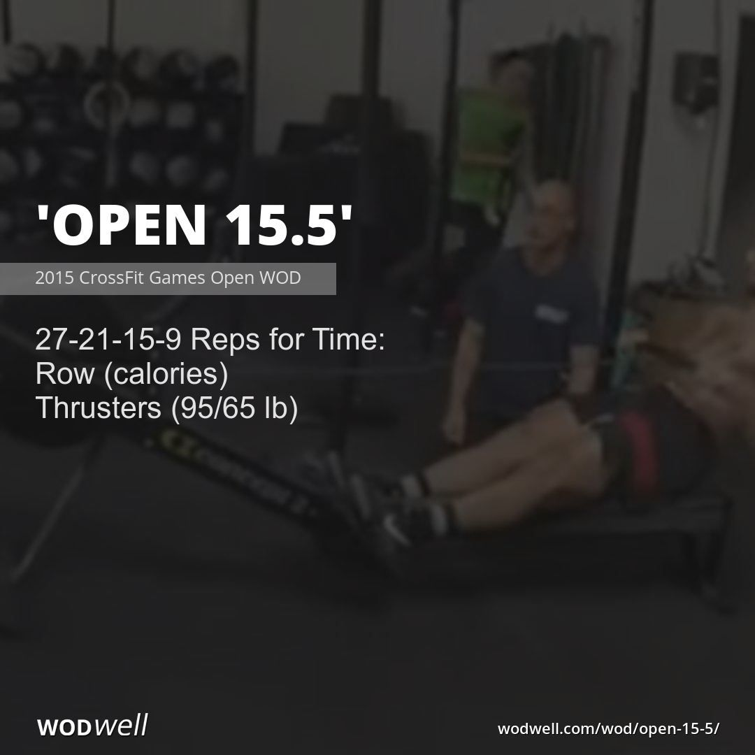 Open 15 5 Workout Crossfit Wod Wodwell Wod Crossfit Rowing Workout Wod Workout