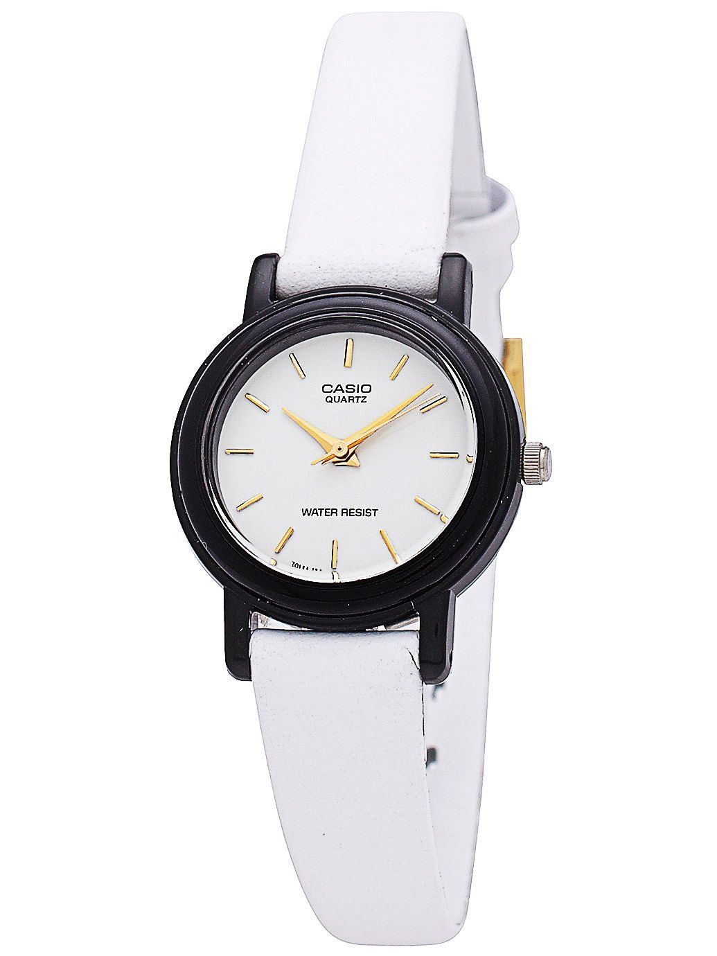 Solid White Leather Limited Edition Wristwatch. #AmericanApparel