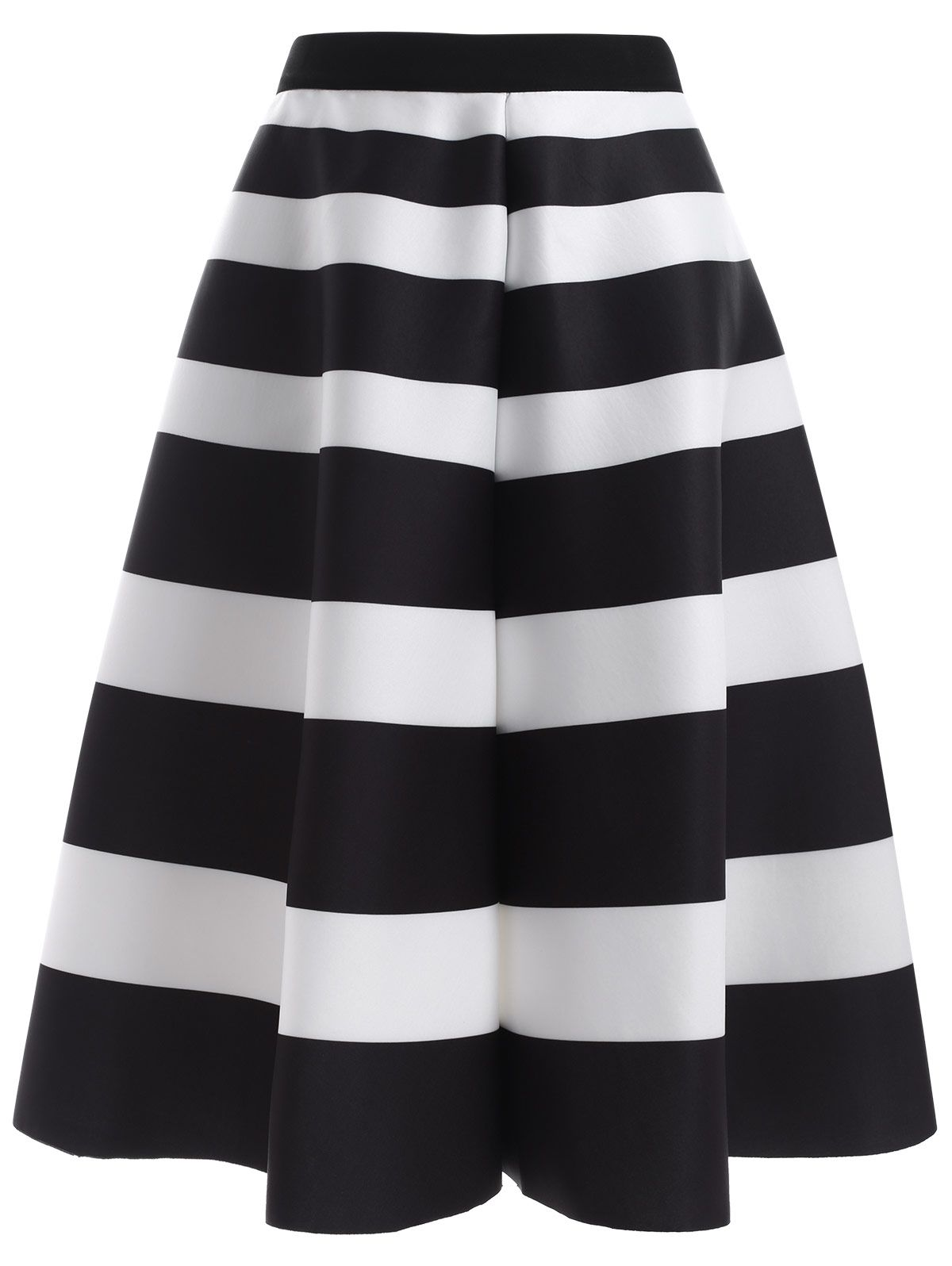 Striped High Waisted Skirt | High waisted skirt, Ps and Skirts