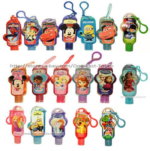 Disney Marvel 2 Oz Hand Sanitizer Clip Travel Size Scented You
