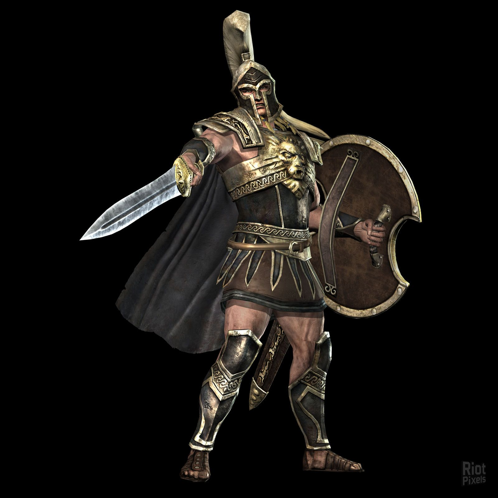 Warriors Legends Of Troy Pc Version: Game Artworks At Riot Pixels