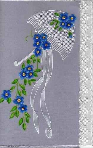 blue brolly #cuteumbrellas