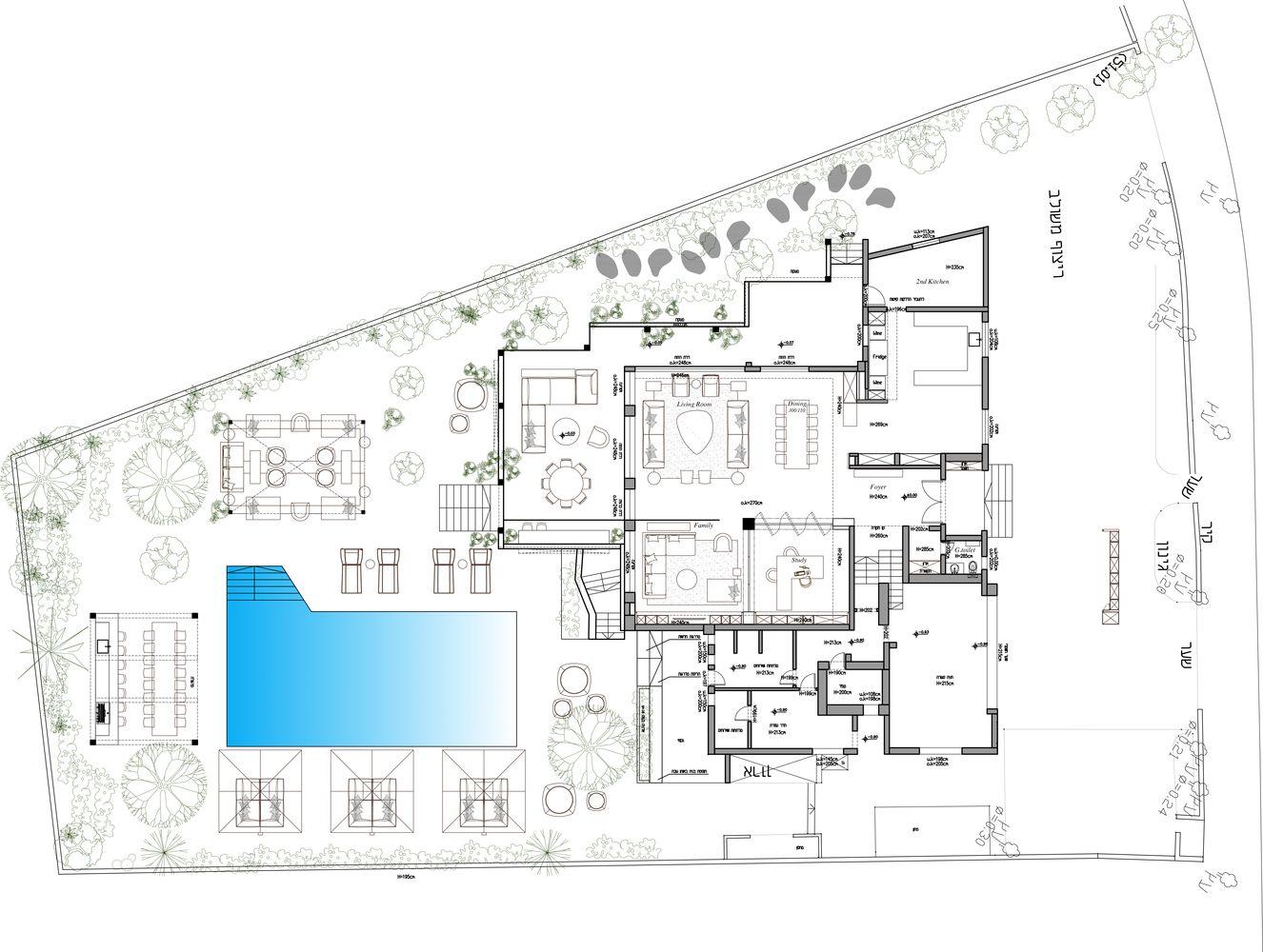 Gallery Of E Y House Architect Oshir Asaban 34 Architect House Architect House Floor Plans