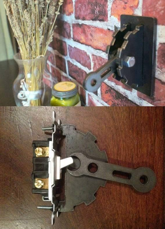 (52) Steampunk Tendencies - Steampunk Light Switch!