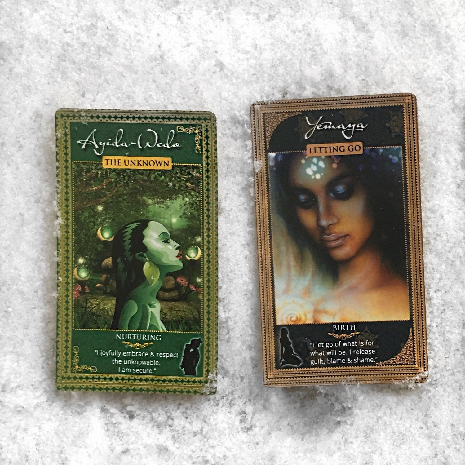 Oracle Cards Reading Womanifesting Fertility Goddess