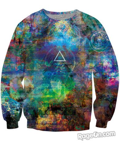 Infinite Bit v11 Sweatshirt - Rage On! - The World's Largest All-Over Print Online Retailer