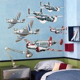 Found it at Wayfair - Airplanes Wallpaper Mural