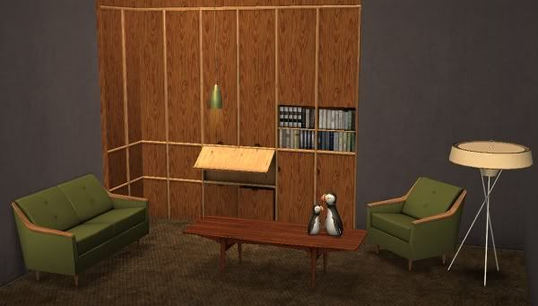 Awesims Moderne Living Set - ts3 to ts2 conversion