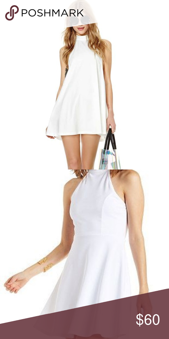 ea1ebccac7d NASTY GAL SKATER DRESS WHITE NWT SIZE XS EXCELLENT CONDITION  NEVER WORN.  23