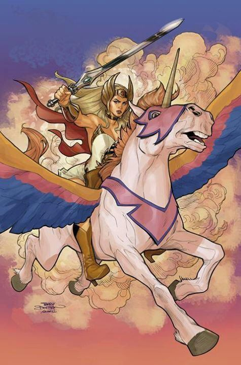 She-Ra by Terry  Rachel Dodson
