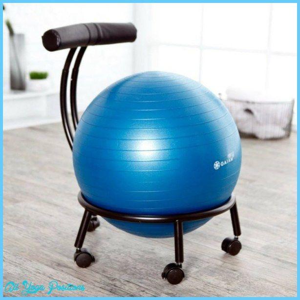Yoga Ball Chair With Images Balance