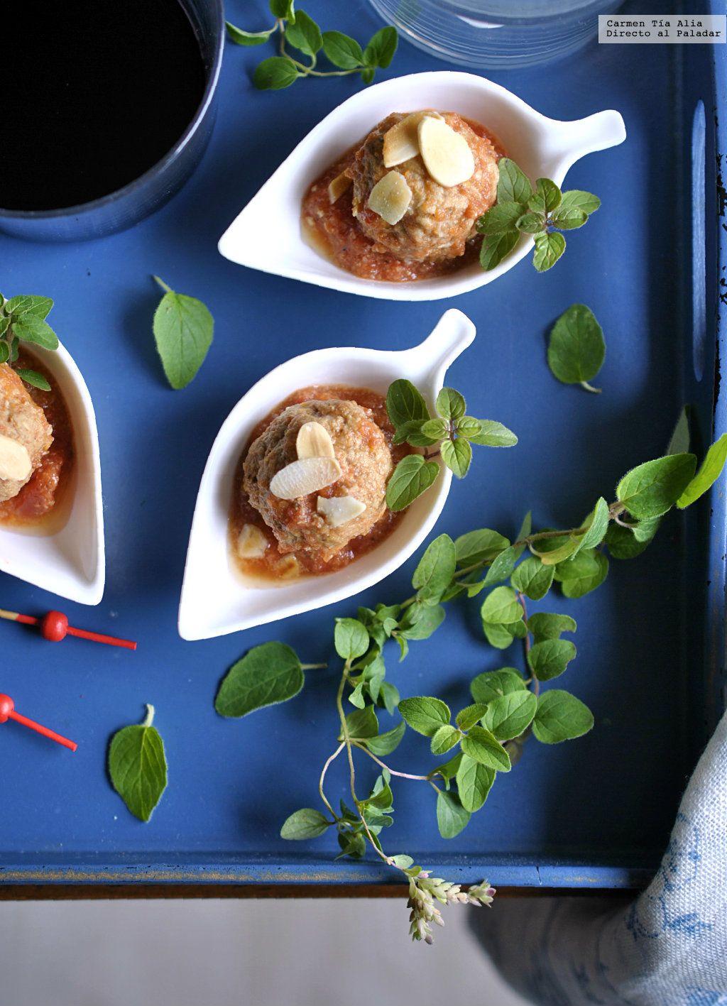 Albóndigas A La Provenzal En Crockpot Receta Libre De Grasas Receta Cocción Lenta Olla De Cocción Lenta Recetas Con Carne
