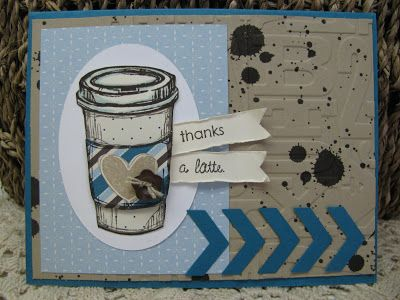 by Jenny Engelke, Giddy Stamper: Thanks a Latte ~ RS73