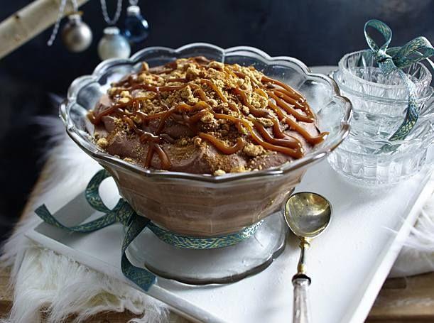 Schnelle Zimt-Mousse au chocolat Rezept   LECKER