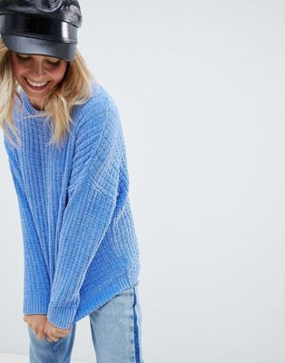 337bfdb800 Image 1 of ASOS DESIGN Oversized Sweater In Chenille