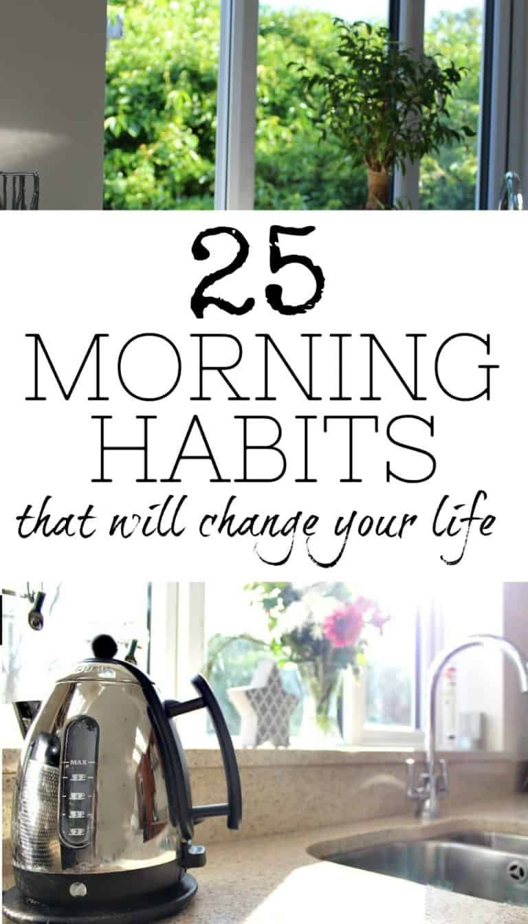Make mornings easier with these 25 simple habits a free
