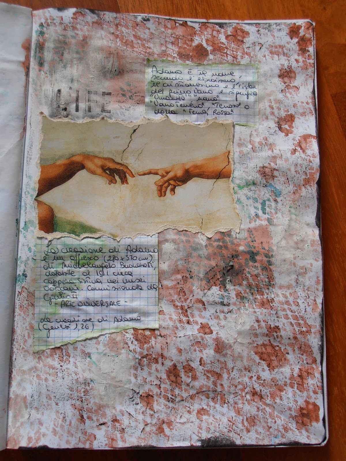 Art Journal di Vania semplicidee...: ART JOURNAL...Palette colore #7
