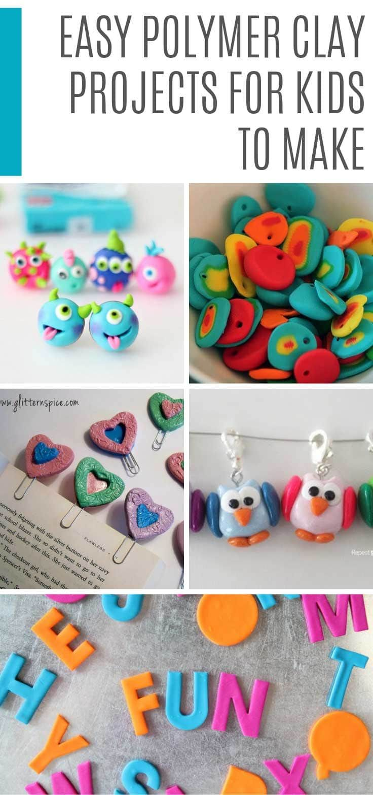 These Polymer Clay Projects For Kids Are So Much Fun You Ll Be