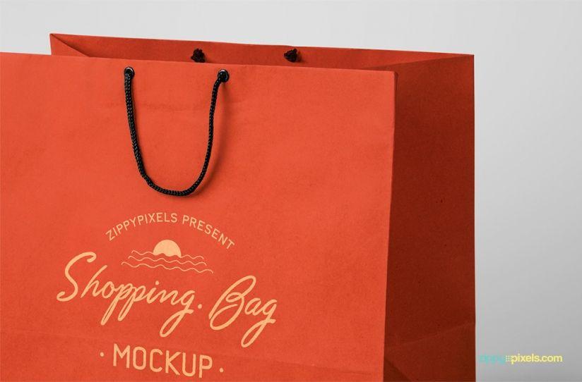 Download Free Shopping Bag Mockup Zippypixels Bag Mockup Free Shopping Bags