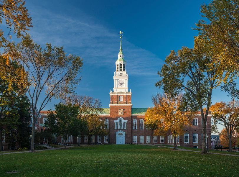 14. Dartmouth College Dartmouth college, College library