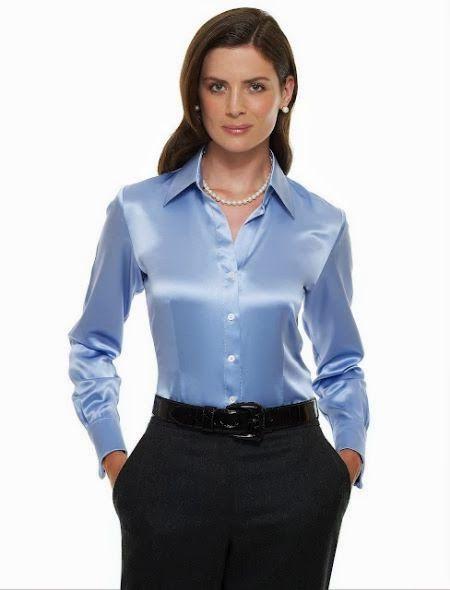 Einkaufen reife Bluse