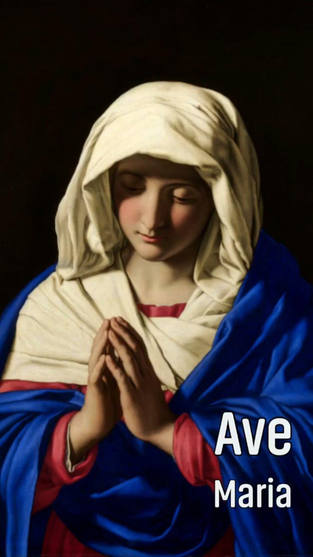 Santa Maria Mae De Deus Rogai Por Nos Pecadores Agora E Na Hora De