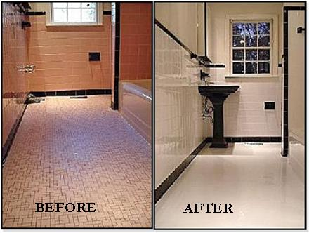 reglaze tile floor tile reglazing