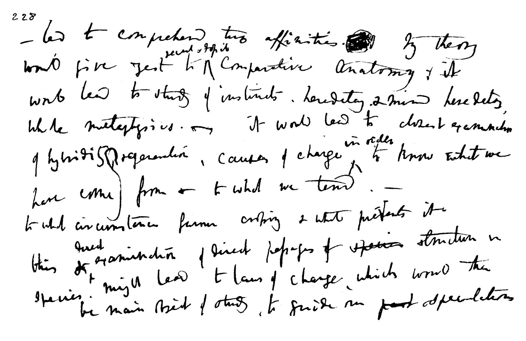 Charles Darwin Kept His Thoughts In Notebooks