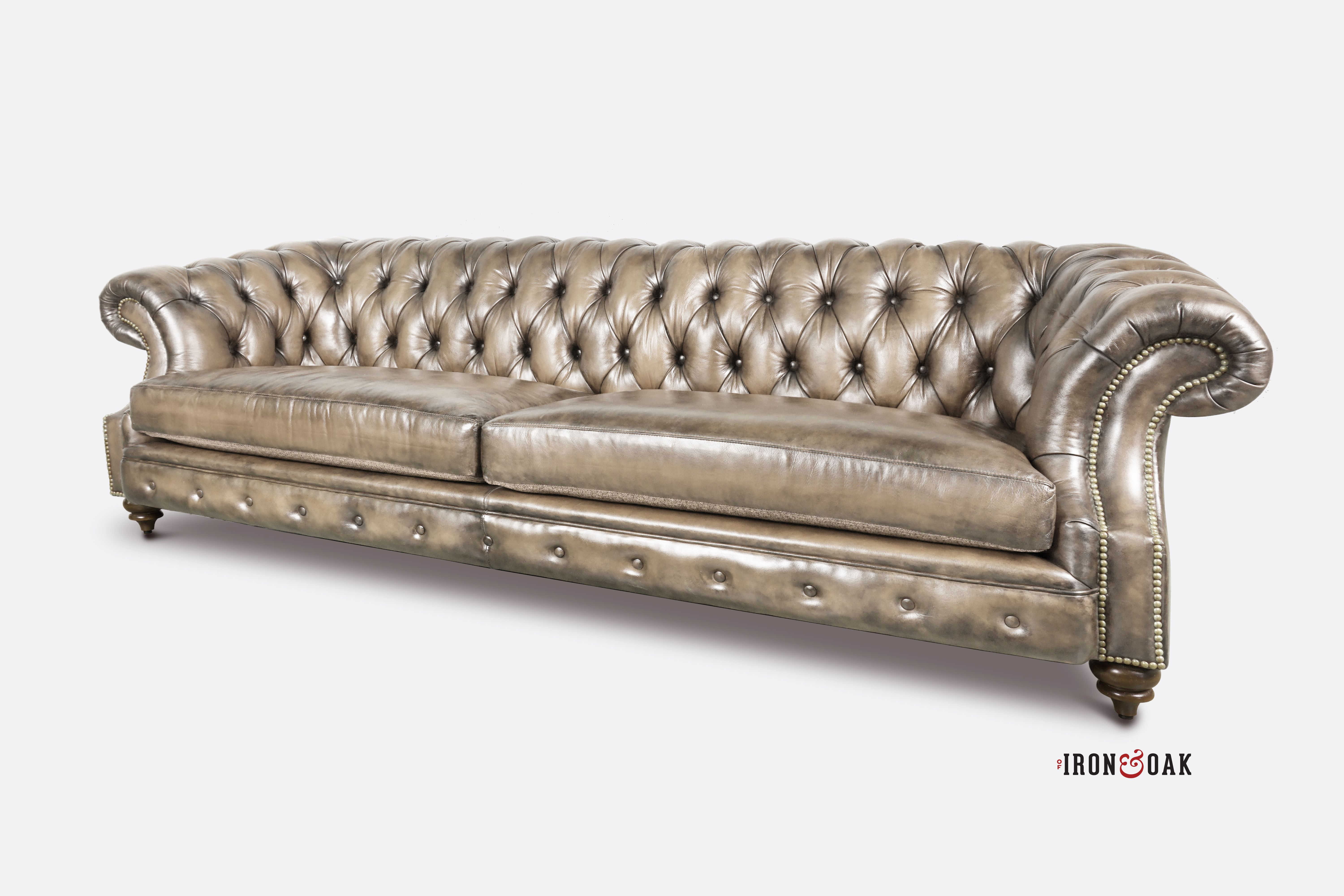 The Langston Custom Chesterfield Sofa Sectional More