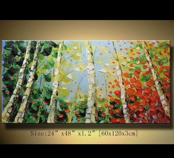 Original Abstract Painting Modern Textured Painting by xiangwuchen, $260.00