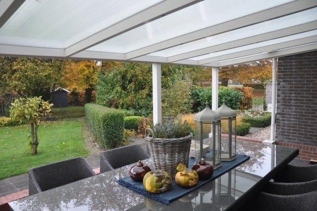 Toiture De Terrasse En Panneaux Acryliques Et Cadre En Alu