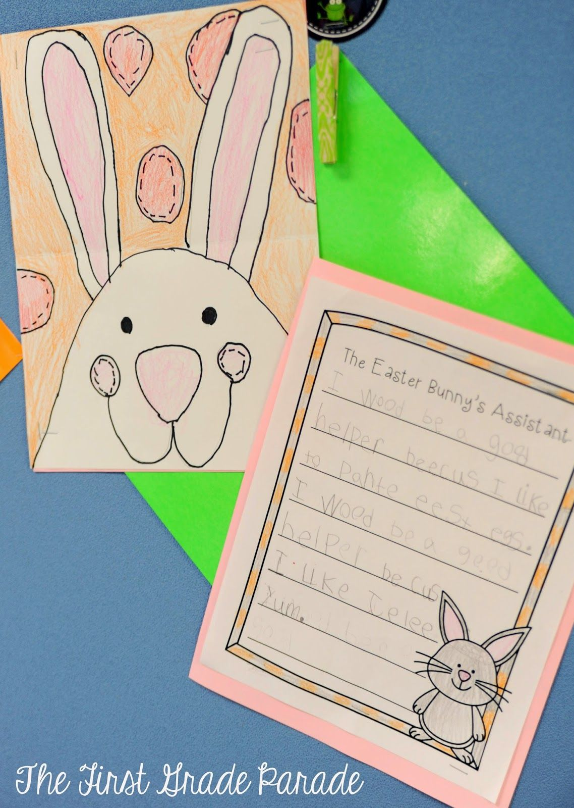 Past Present Classroom First Grade Parade Easter Easter Crafts