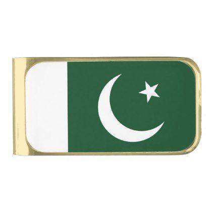 Pakistan Flag Money Clip