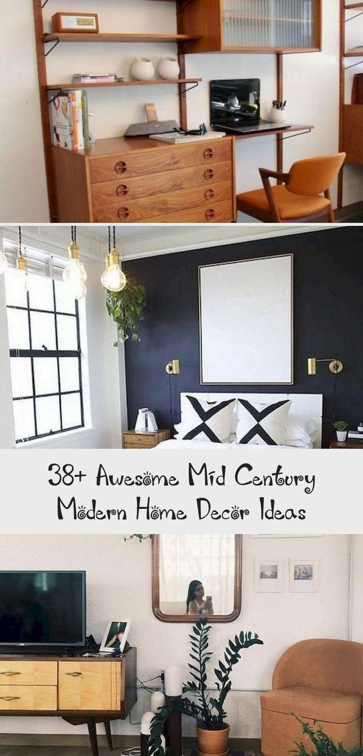 38 Awesome Mid Century Modern Home Decor Ideas Decor Mid Century Modern House Modern House Home Decor