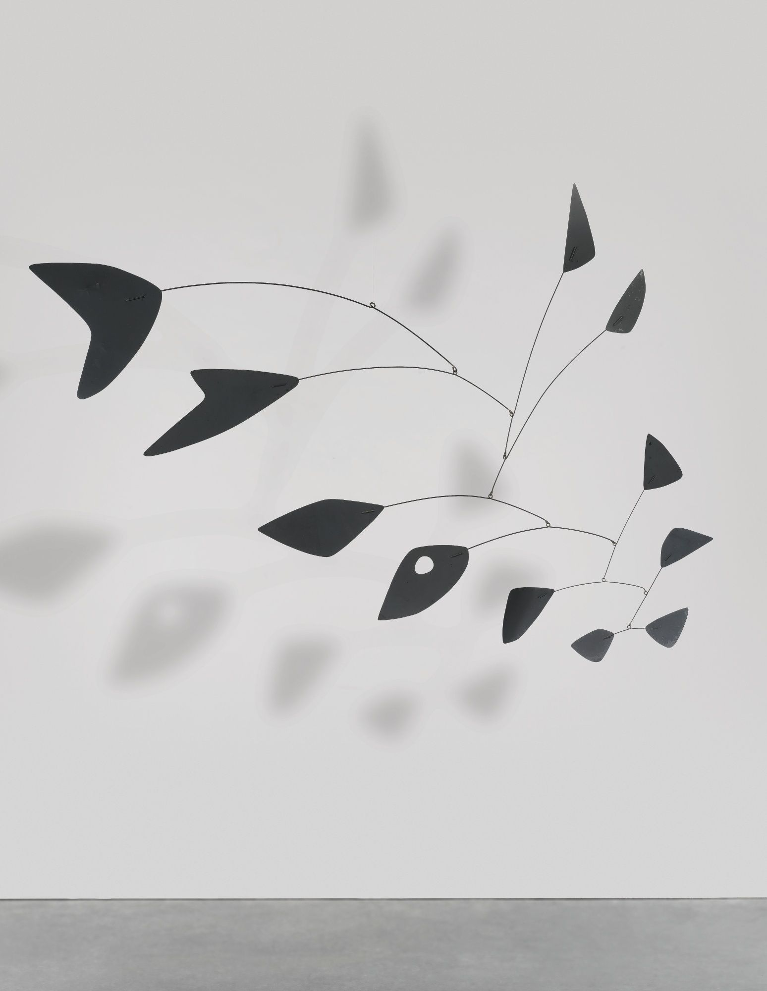ALEXANDER CALDER 1898 - 1976 THE HANDSHAKE AND THE FISHTAIL incised ...