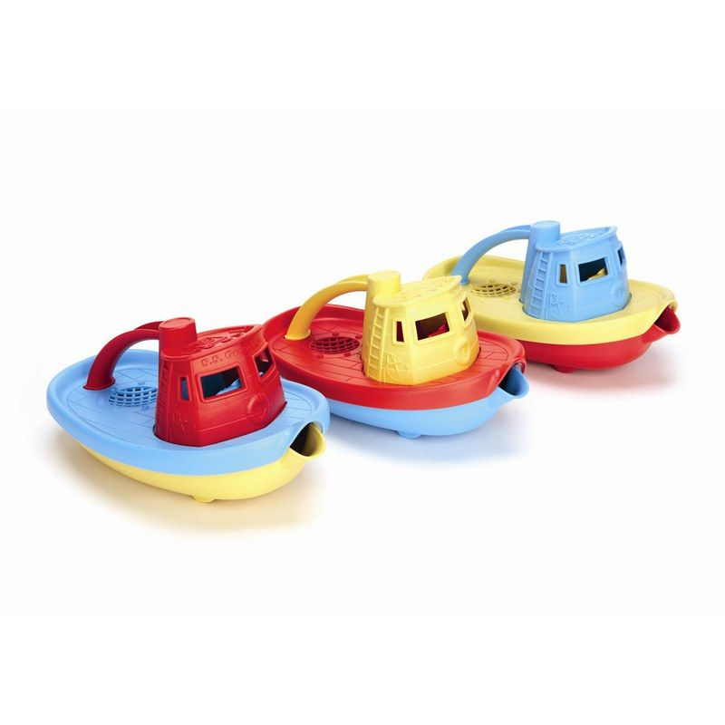 Speelgoed boot van gerecycled materiaal Green Toys Badspeelgoed boot