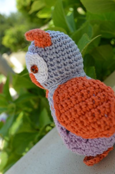 Chouette au crochet