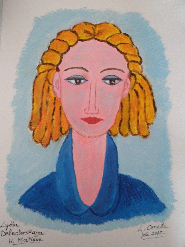 Lydia Delectorskava de Matisse.