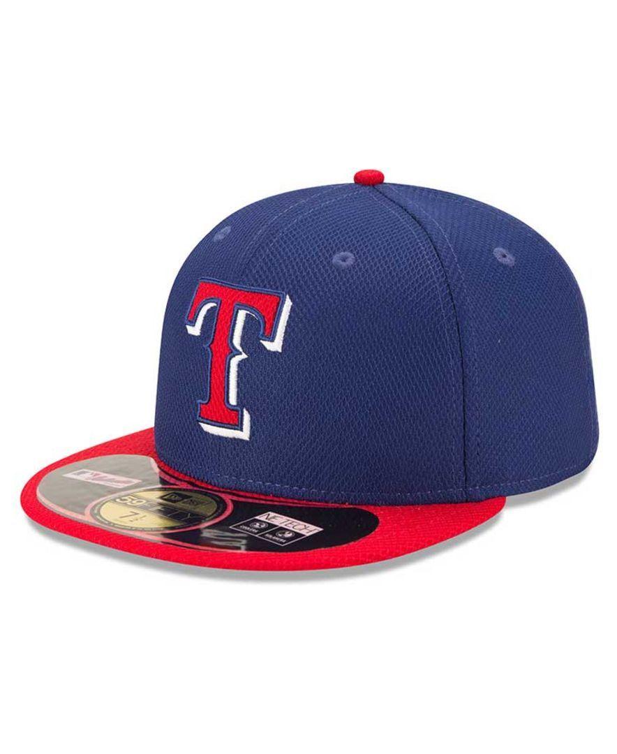 bd9384f919d New Era Texas Rangers Mlb Diamond Era 59FIFTY Cap