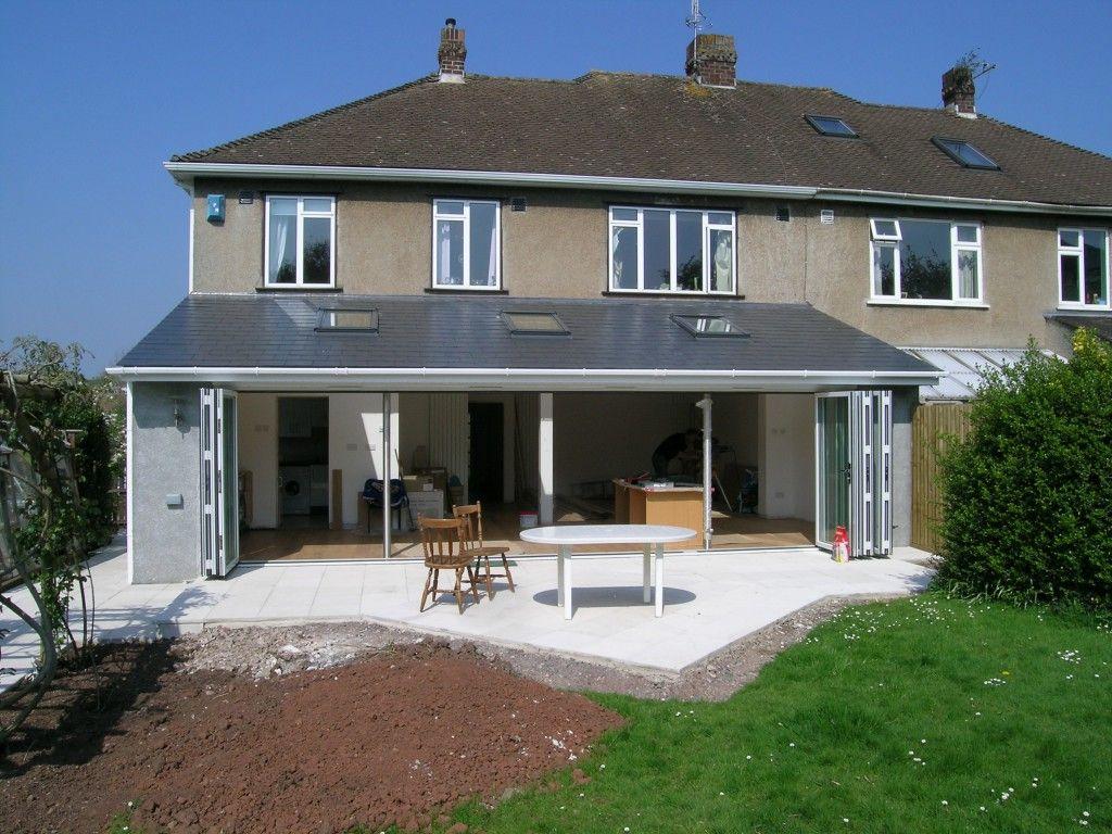 birmingham contemporary single storey rear extension rear