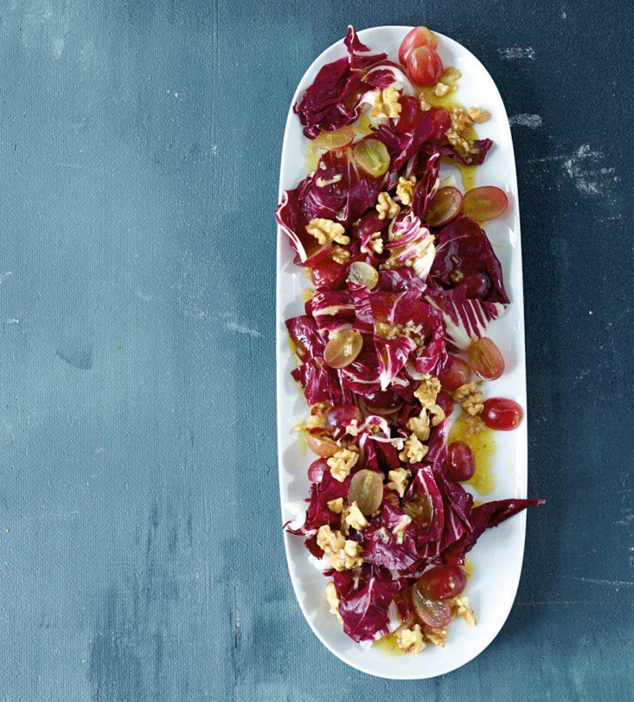 Radicchio-Trauben-Salat Rezept - ESSEN & TRINKEN