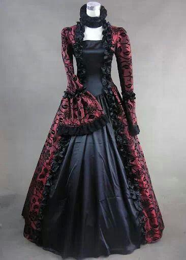 737594727b Old fashion Dress