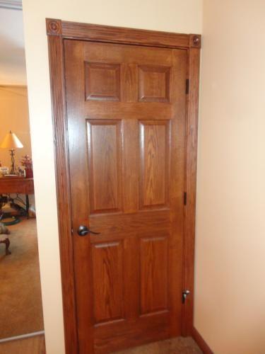 House Of Fara 5000 3 4 In X 3 In X 7 Ft Oak Door Trim Casing Set Up To 40 In X 84 In Opening 5000 The Home Depot Oak Doors Door Trims Doors