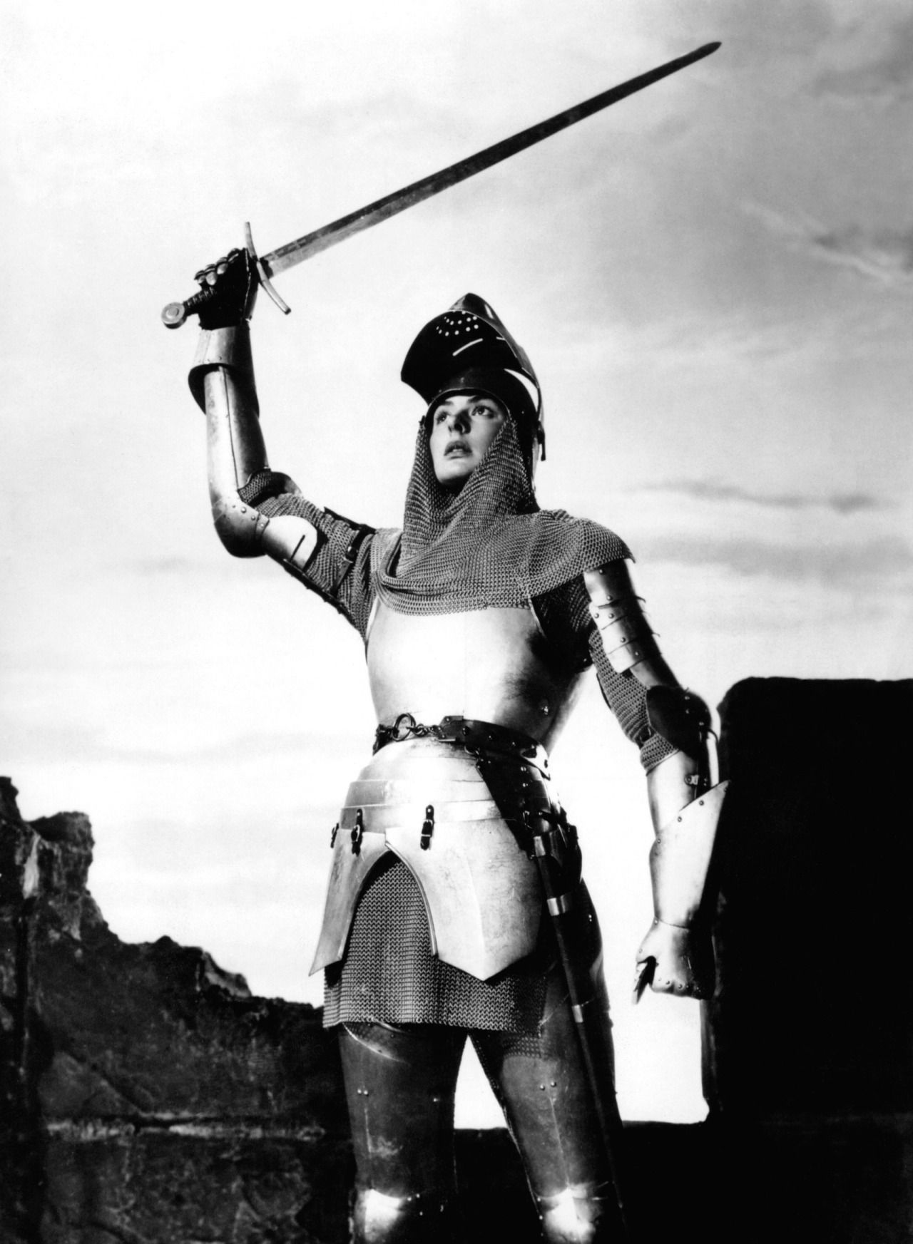 Ingrid Bergman En Juana De Arco Joan Of Arc
