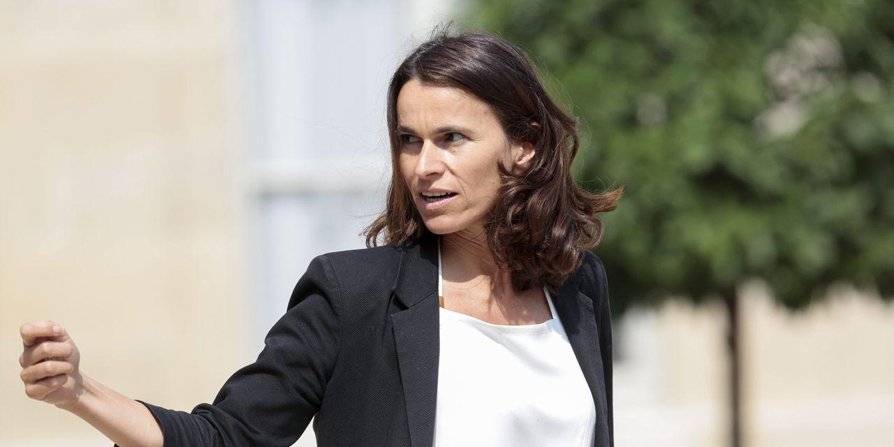 France. Aurélie Filippetti Ex de la Culture, dénonce le machisme avec lequel a été interprété son départ du gouvernement. Samedi 4 octobre 2014.